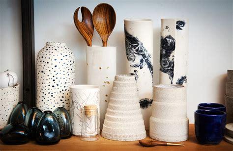 handmade ceramics  white hot   york times