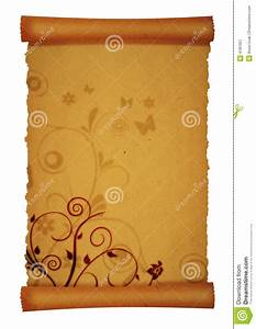 Scroll Parchment Royalty Free Stock Photography - Image ...