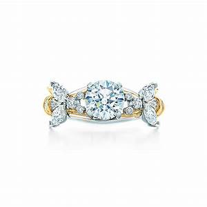 Tiffany co schlumbergerr two bees ring engagement rings for Tiffany weddings rings
