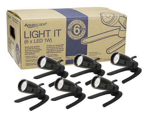 Aquascape Led Lighting - aquascape garden and pond spotlight led lighting 6 packs