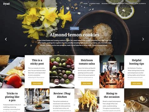 Wp Restaurant Themes 10 Best Free Responsive Restaurant Theme 2019