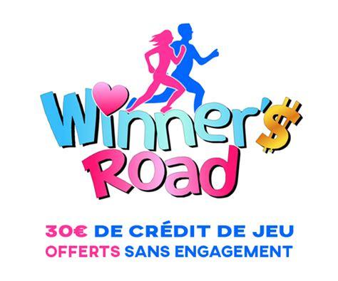winners road offre 30 euros de cr 233 dit de jeu sans aucune