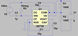 Ac Dc - True Rms-to-dc Converter With Ad736