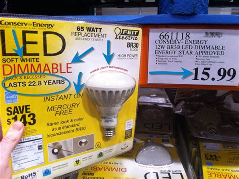 led tube lights costco recessed led lighting for your basement save 700