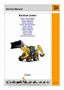 Jcb 3cx Backhoe Loader Service Repair Manual Sn Uff1a2000000
