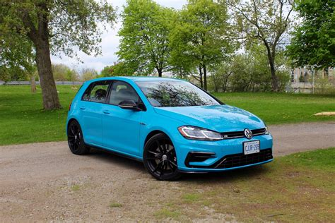 Golf Reviews by Car Review 2019 Volkswagen Golf R Driving