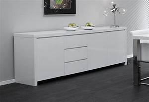 Sideboard Weiß 200 Cm : sideboard schrank hochglanz weiss wei woody 83 00036 ebay ~ Markanthonyermac.com Haus und Dekorationen