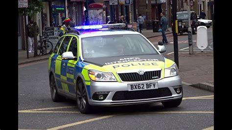 London Metropolitan Police Cars Responding