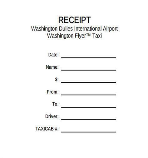 receipt template ireland printable receipt template