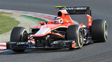 F1 Cars by Wanted One Careful Owner As Marussia F1 Cars Go Up For