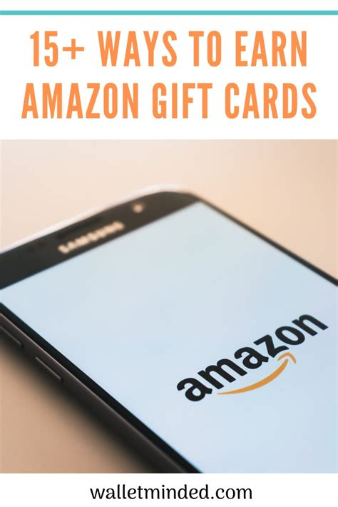 Earn Amazon Gift Cards - The Ultimate Guide | Walletminded