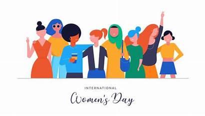 International Vector Poster Illustration Womens Card Illustrations