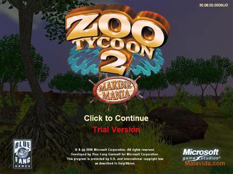 marine mania tycoon zoo animals pc demo extinct malavida software related
