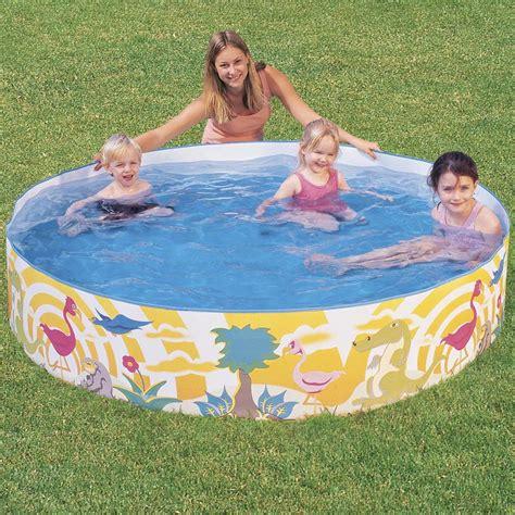 pool zum aufblasen aufblasbarer pool tipps top modelle