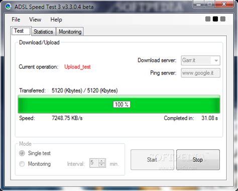 Adsl Speed Test Download