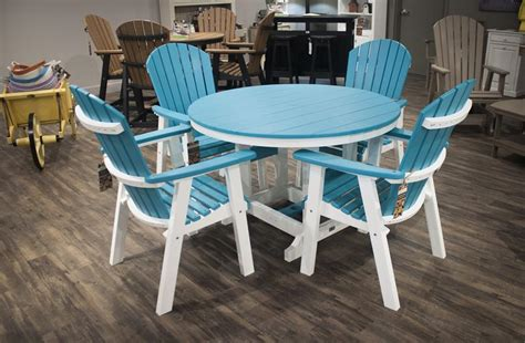 berlin gardens five patio furniture poly dining set from