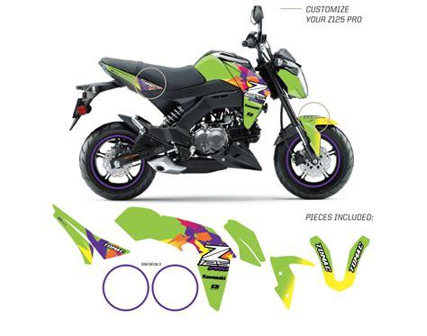 Kawasaki Z125 Pro Backgrounds by Retro Mx Z125 Pro