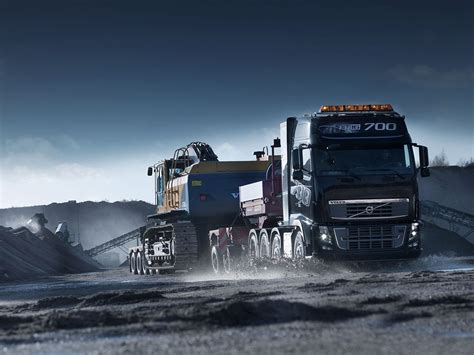 volvo heavy 60 absolutely stunning truck wallpapers in hd