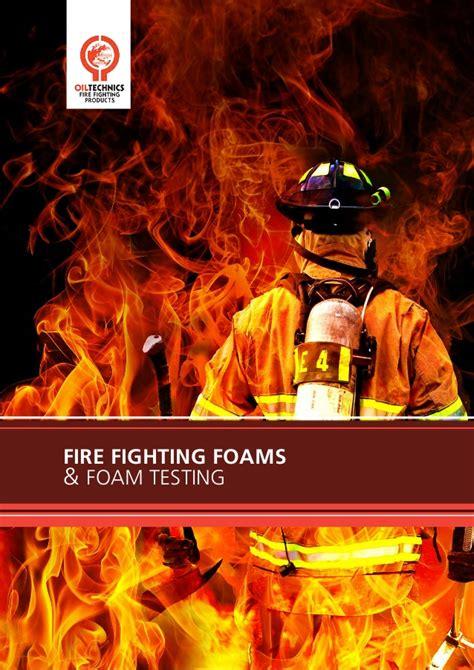 oil technics  otlfire fighting foams brochure