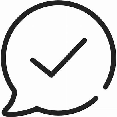 Selesai Percakapan Chat Dilakukan Icon Ikon Gratis