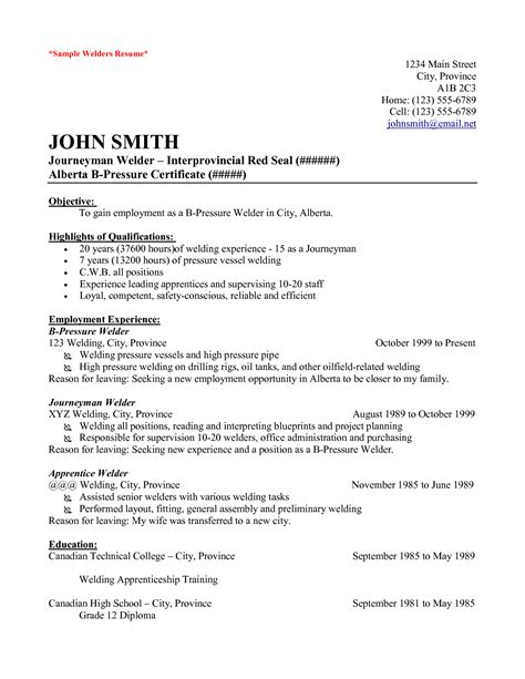 inspirational structural welder sle resume resume daily