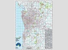 Adelaide & South Australia Postcode Map, Buy Postcode Map