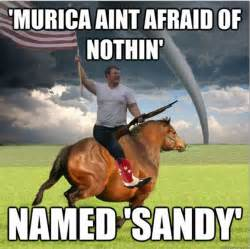 Murica Meme - the funniest hurricane sandy memes