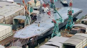 Japan's Izumo-class Helicopter Destroyer: An Aircraft ...