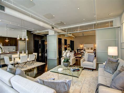 Luxury Apartment Interiors, Loft Apartments La California