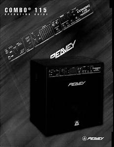 Peavey Musical Instrument Amplifier 115 User Guide