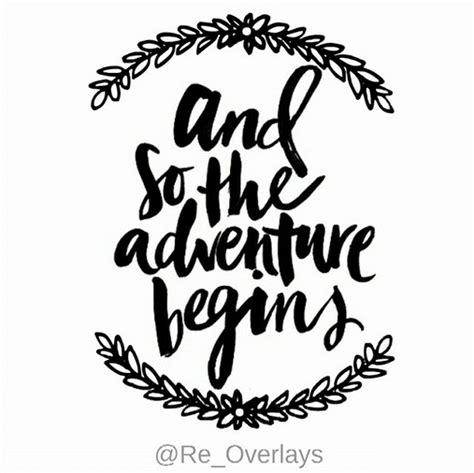 adventure begins  heart  overlay