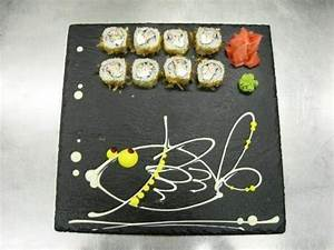 Hand Painted Sushi Plates For Creative Asian Party Table