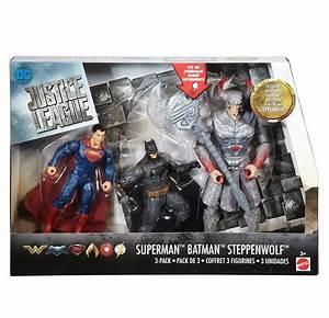 DC Comics Justice League Action Figures 3 Pack - Superman ...