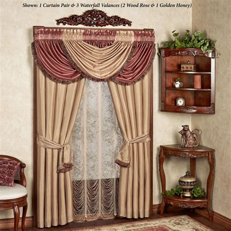 majesty waterfall valance window treatment