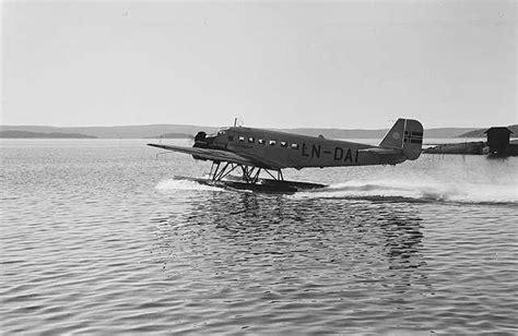 Flying Boat Beer by Ju 52 Seaplane At Oslo Airport By Anders Beer Wilse
