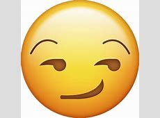 Download Smirk Face Iphone Emoji Icon in JPG and AI
