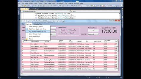 vbnet run application  full screen mode