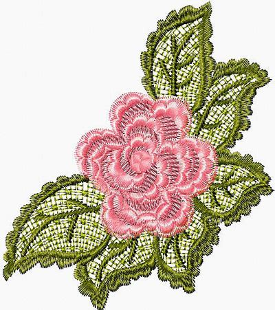 free embroidery designs free lace flower machine embroidery design