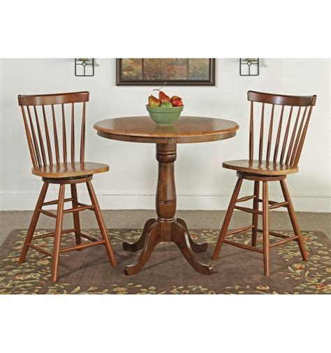 [36 Inch] Classic Round Table   Bare Wood Fine Wood