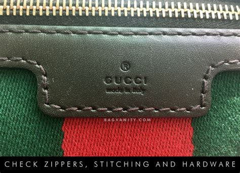 gucci authenticity check  ways  spot  real gucci