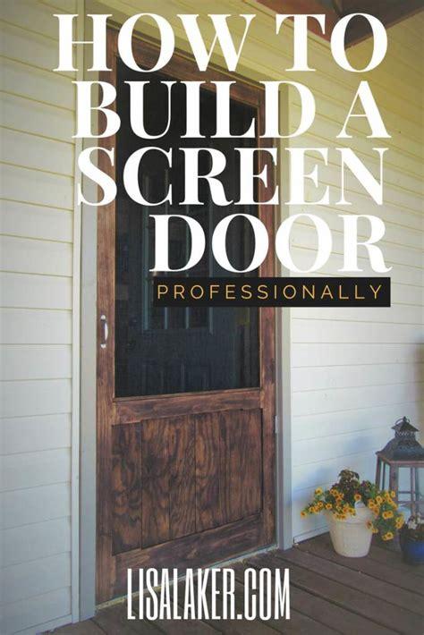 wood screen door laker hardware flooring  interior design
