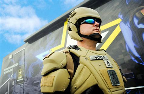 Army Working On 'liquid Armor' Suits