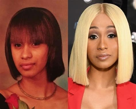 Cardi B Plastic Surgeries and Tattoos - Before and After ...