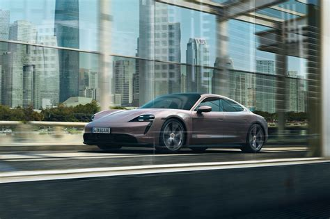 New Base RWD Porsche Taycan Debuts In China With Up To 303 ...