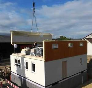 Fertighäuser Aus Holz : ein fertighaus aus holz ausgezeichnete planbarkeit beim bauen ~ One.caynefoto.club Haus und Dekorationen