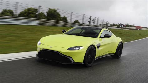 2019 aston martin vantage first review tilting at windmills