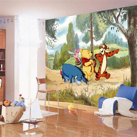 papier peint chambre garcon deco chambre bebe disney chambre winnie l ourson pas cher
