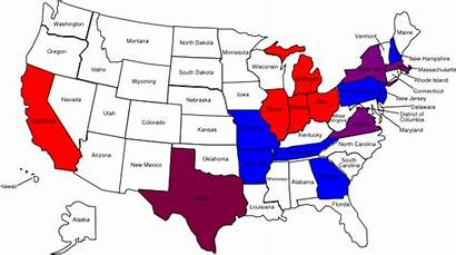 Map States Names State United Coloring Clip
