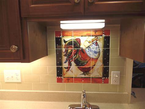 Rooster tiles   Kitchen backsplash tiles   Tuscan Rooster
