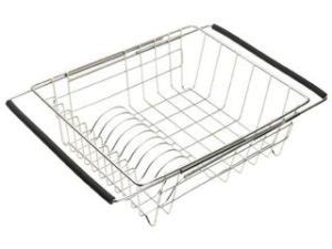kitchen sink with dish drainer sink dish drainer colanders sink grids by just 8570